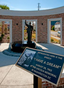 I have a dream speech monument